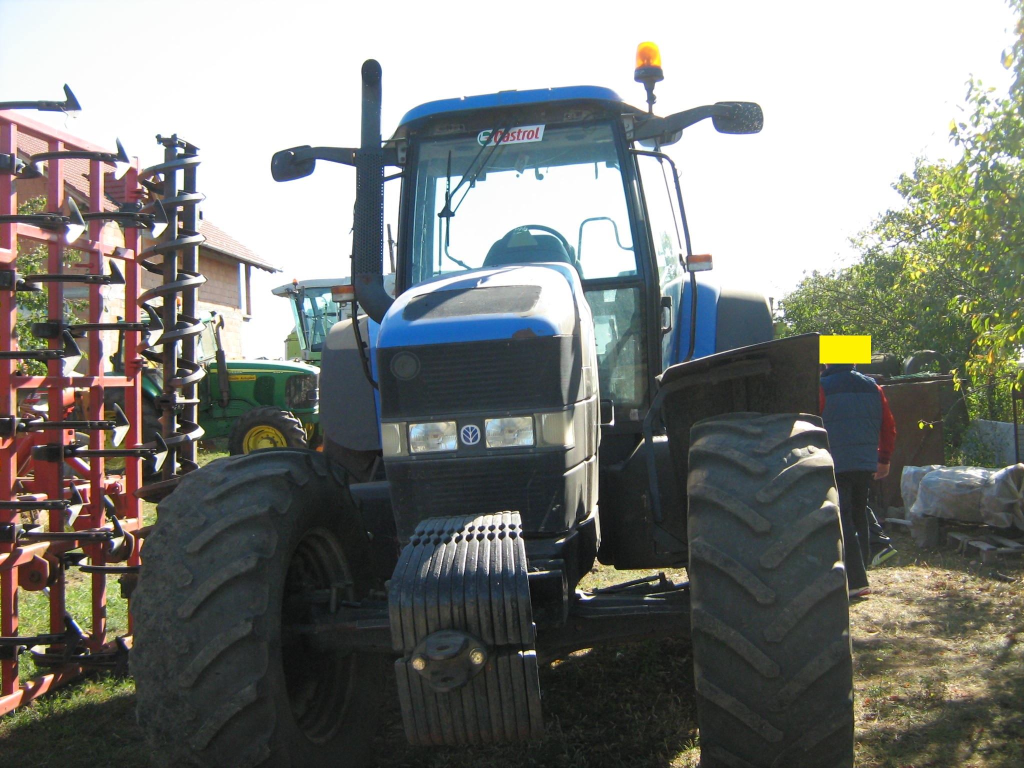 tractor New Holland TM 190